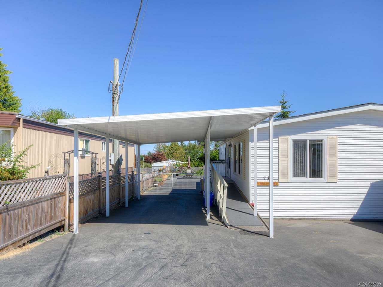 Main Photo: 730 Kasba Cir in PARKSVILLE: PQ French Creek Manufactured Home for sale (Parksville/Qualicum)  : MLS®# 805338