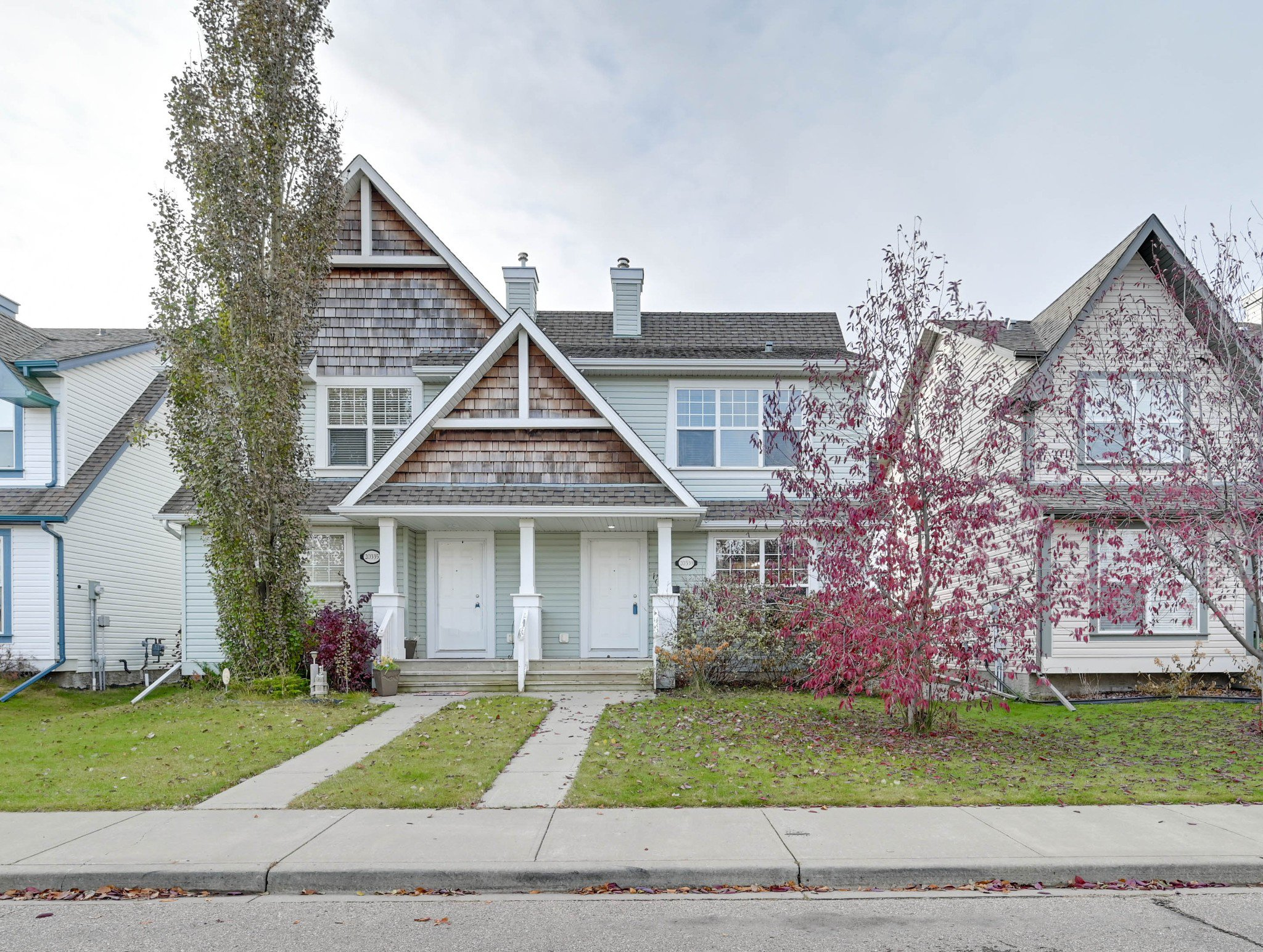 Main Photo: 20339 - 56 Avenue in Edmonton: Hamptons House Half Duplex for sale : MLS®# E4177430