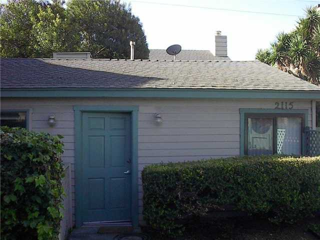 Main Photo: PACIFIC BEACH Home for sale or rent : 1 bedrooms : 2115 Garnet
