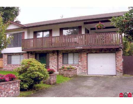 Main Photo: 13804 - 102ND AVENUE, SURREY, B.C. in Surrey: Home for sale (Canada)  : MLS®# F2726007