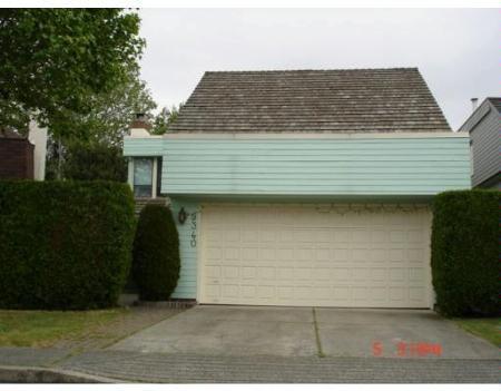 Main Photo: 9340 MASKALL DR in Richmond: House for sale (Lackner)  : MLS®# V652319