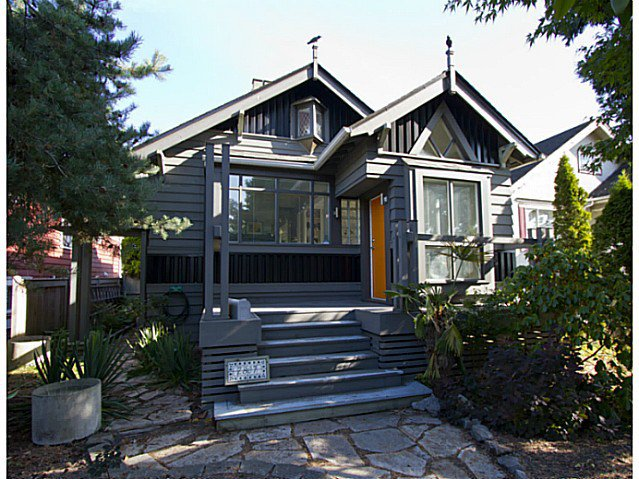 Main Photo: 2807 MCGILL ST in Vancouver: Hastings East House for sale (Vancouver East)