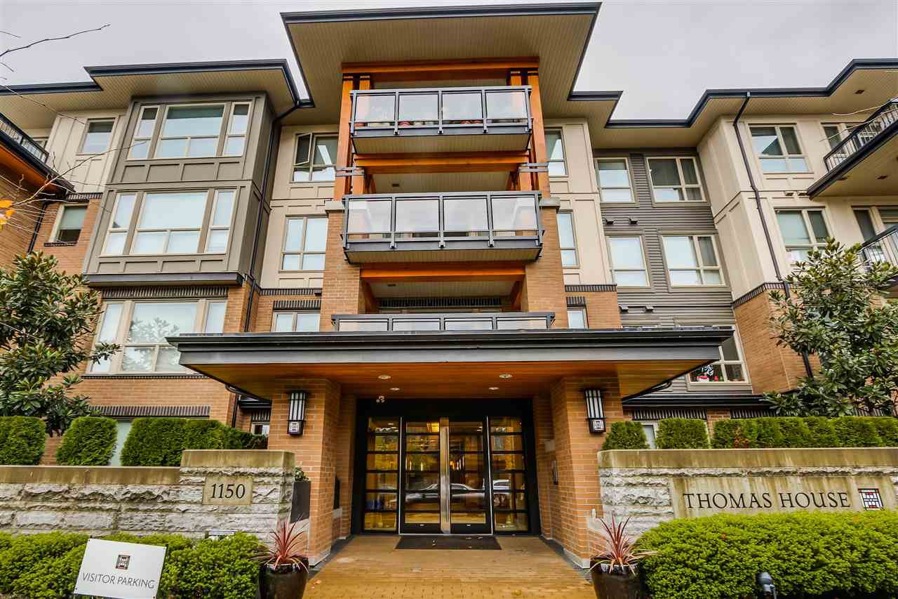 """Main Photo: 309 1150 KENSAL Place in Coquitlam: New Horizons Condo for sale in """"THOMAS HOUSE"""" : MLS®# R2018633"""