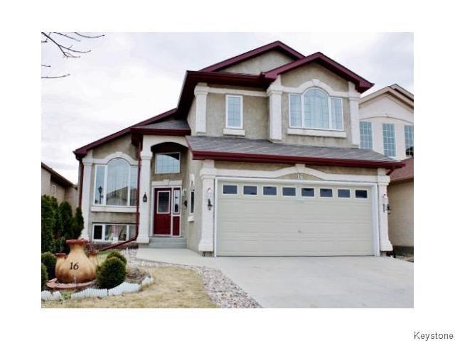 Main Photo: 16 Scammel Road in Winnipeg: St Vital Residential for sale (South East Winnipeg)  : MLS®# 1618493
