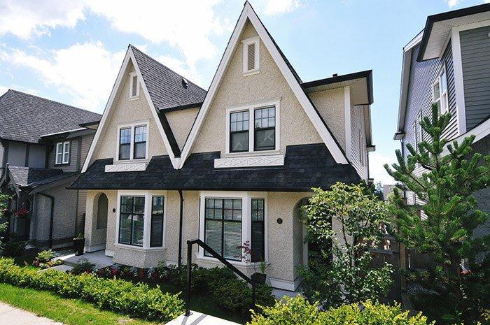 "Main Photo: 5 3432 GISLASON Avenue in Coquitlam: Burke Mountain House 1/2 Duplex for sale in ""ROXTON"" : MLS®# R2103480"
