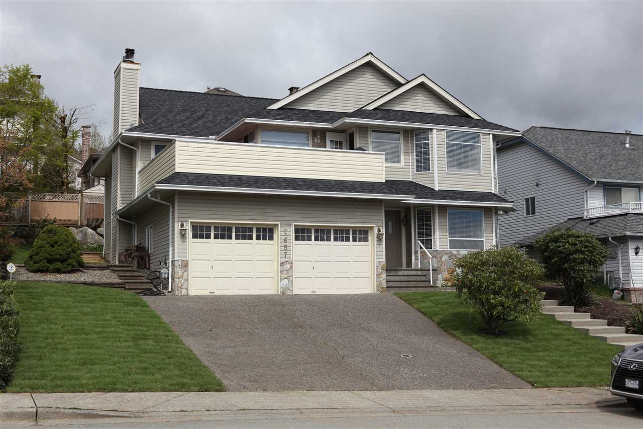 "Main Photo: 2657 DELAHAYE Drive in Coquitlam: Scott Creek House for sale in ""Scott Creek"" : MLS®# R2162313"
