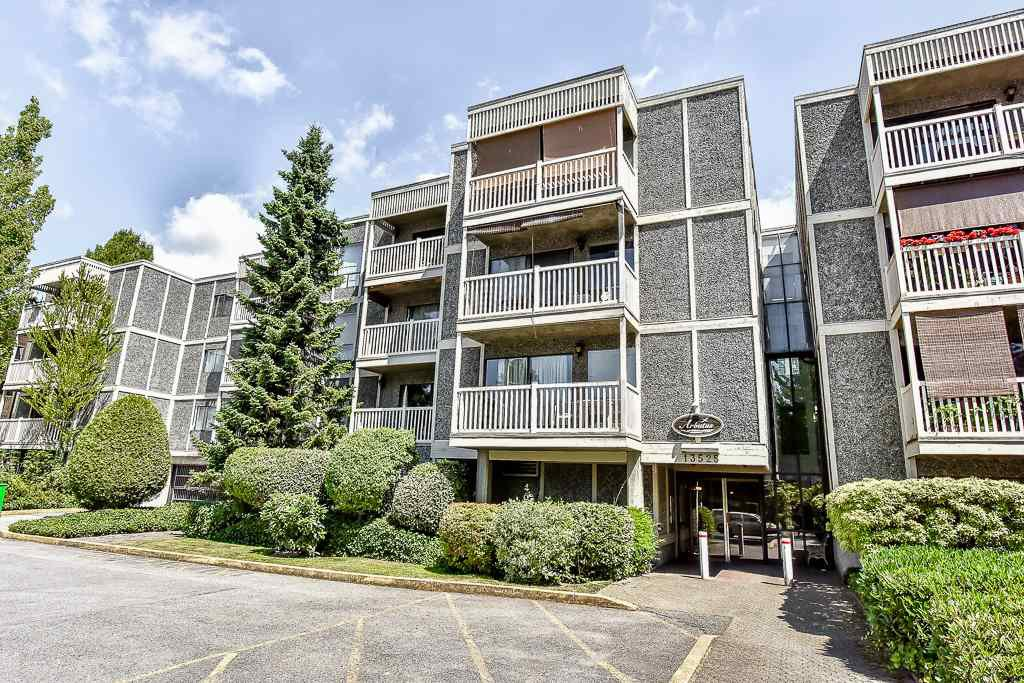 "Main Photo: 206 13525 96 Avenue in Surrey: Whalley Condo for sale in ""PARKWOODS-ARBUTUS"" (North Surrey)  : MLS®# R2187084"