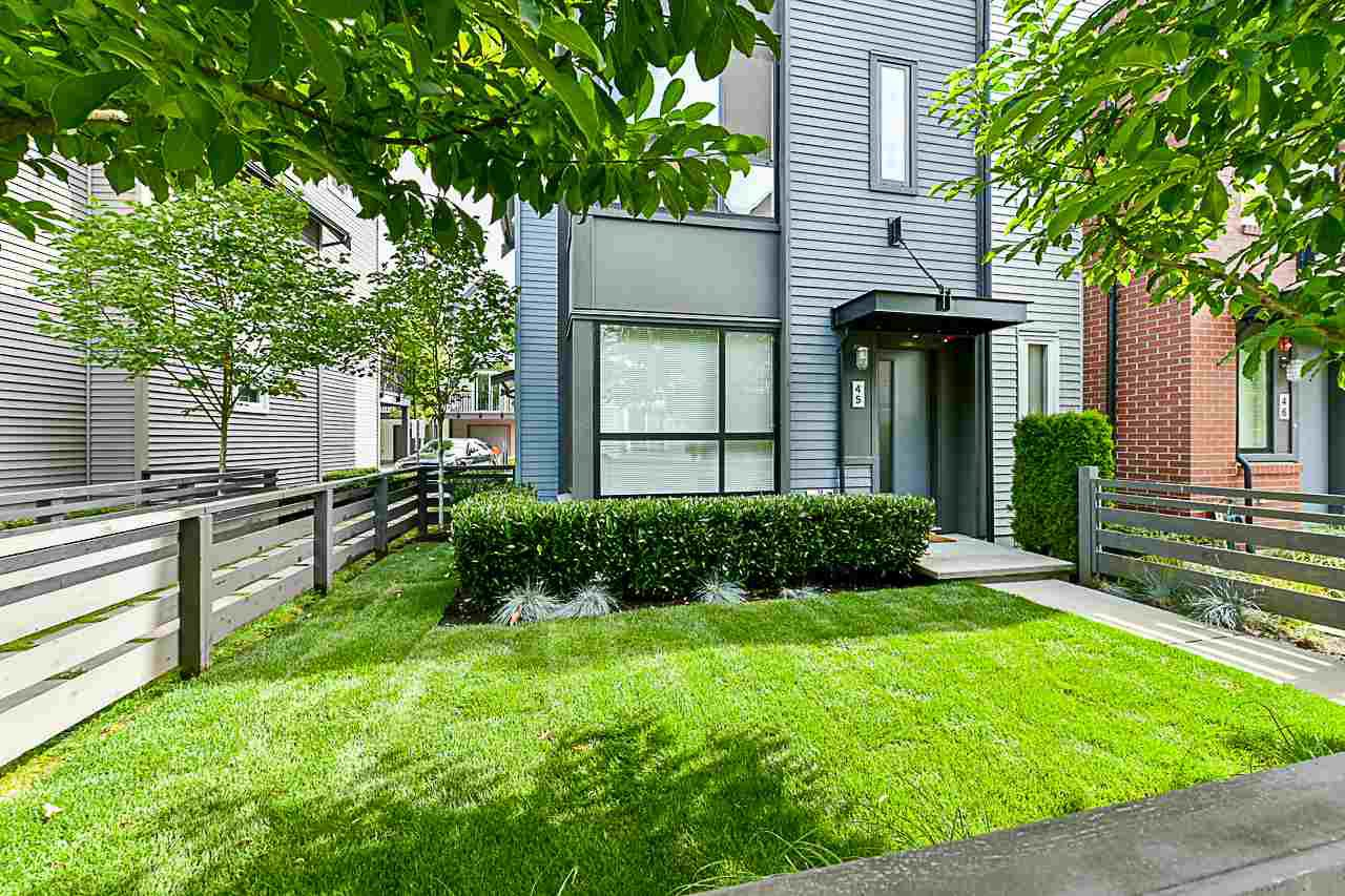 """Main Photo: 45 2332 RANGER Lane in Port Coquitlam: Riverwood Townhouse for sale in """"FREMONT BLUE"""" : MLS®# R2287167"""