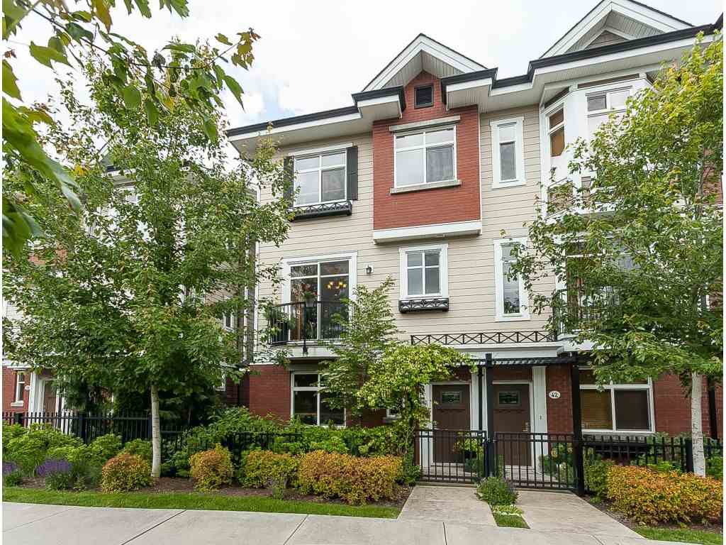 Main Photo: 41 8068 207 Street in Langley: Willoughby Heights Townhouse for sale : MLS®# R2378119