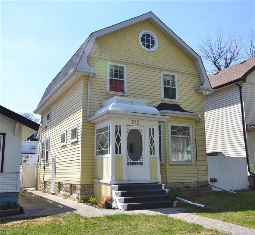 Main Photo: 212 Horace Street in Winnipeg: Norwood Residential for sale (2B)  : MLS®# 202010836