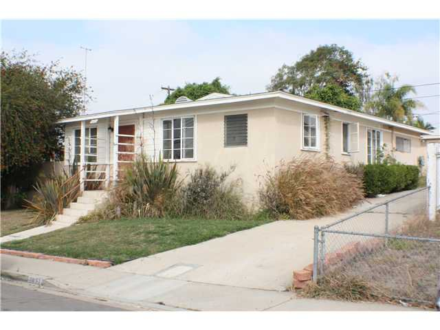 Main Photo: LINDA VISTA House for sale : 4 bedrooms : 6832 Kramer Street in San Diego