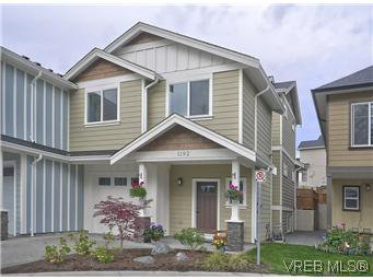 Main Photo: 1192 Parkdale Creek Gdns in VICTORIA: La Westhills Half Duplex for sale (Langford)  : MLS®# 592125