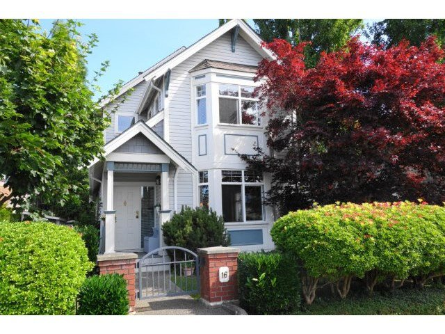 "Main Photo: 16 4771 GARRY Street in Richmond: Steveston South Townhouse for sale in ""GARRY CORNER"" : MLS®# V1134796"
