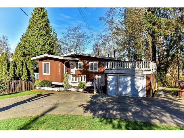 Main Photo: 11508 MCBRIDE Drive in Surrey: Bolivar Heights House for sale (North Surrey)  : MLS®# R2096390