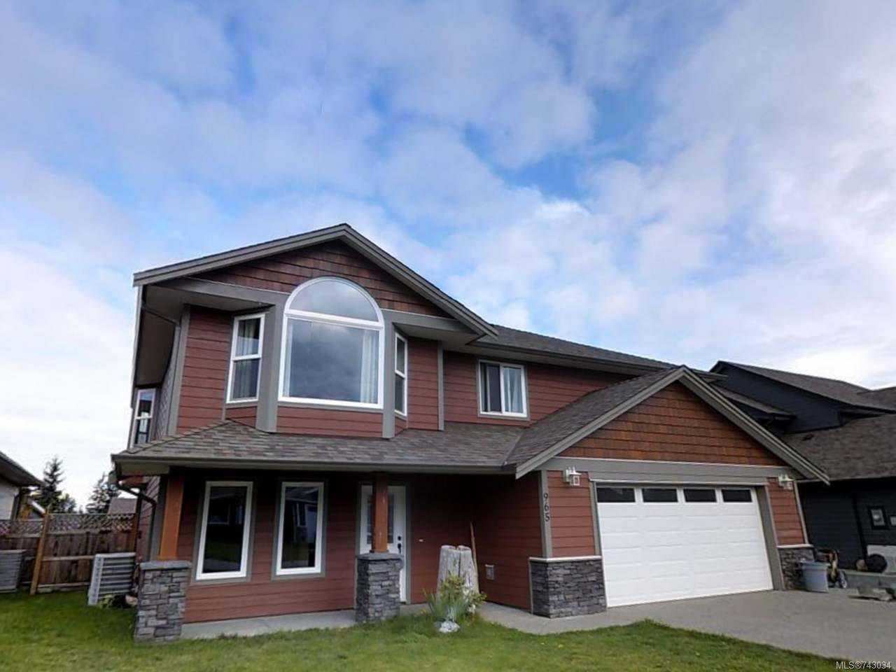 Main Photo: 965 Cordero Cres in CAMPBELL RIVER: CR Willow Point House for sale (Campbell River)  : MLS®# 743034