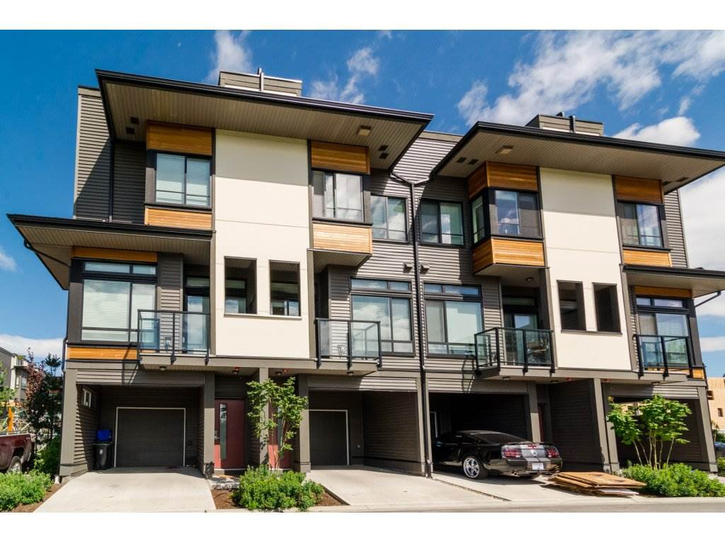 "Main Photo: 49 7811 209 Street in Langley: Willoughby Heights Townhouse for sale in ""EXCHANGE"" : MLS®# R2179349"