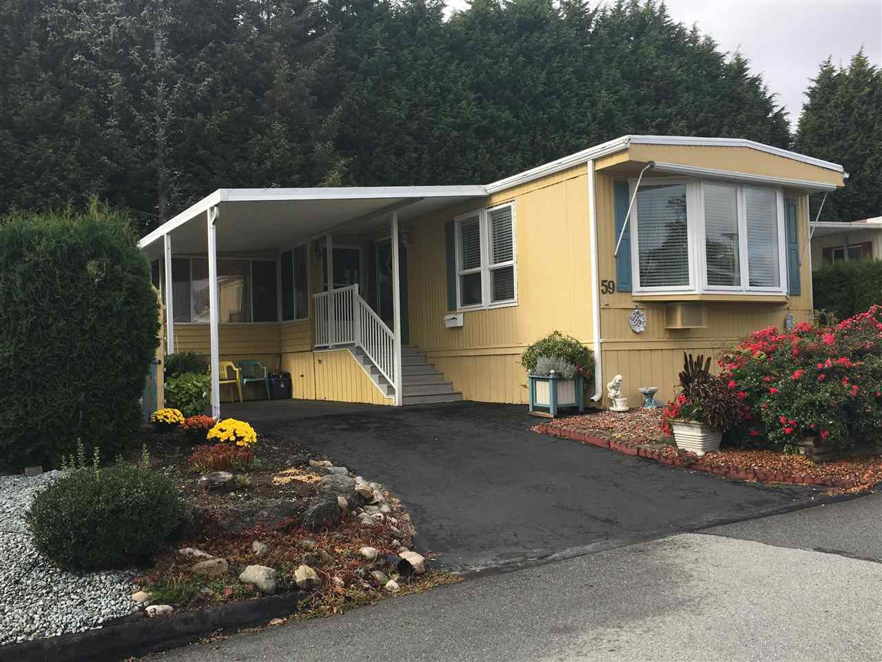 "Main Photo: 59 15875 20 Avenue in Surrey: King George Corridor Manufactured Home for sale in ""Sea Ridge Bays"" (South Surrey White Rock)  : MLS®# R2213807"