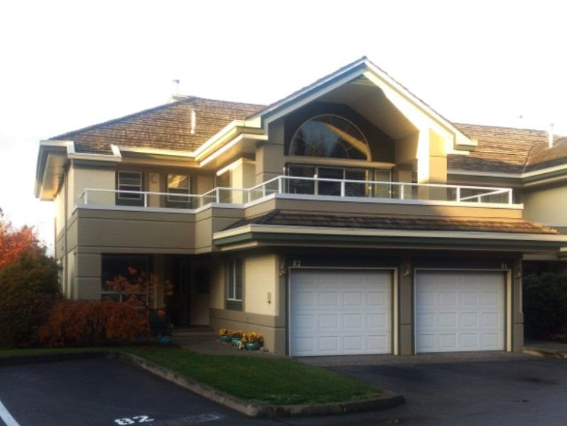 "Main Photo: 82 4001 OLD CLAYBURN Road in Abbotsford: Abbotsford East Townhouse for sale in ""Cedar Springs"" : MLS®# R2222857"