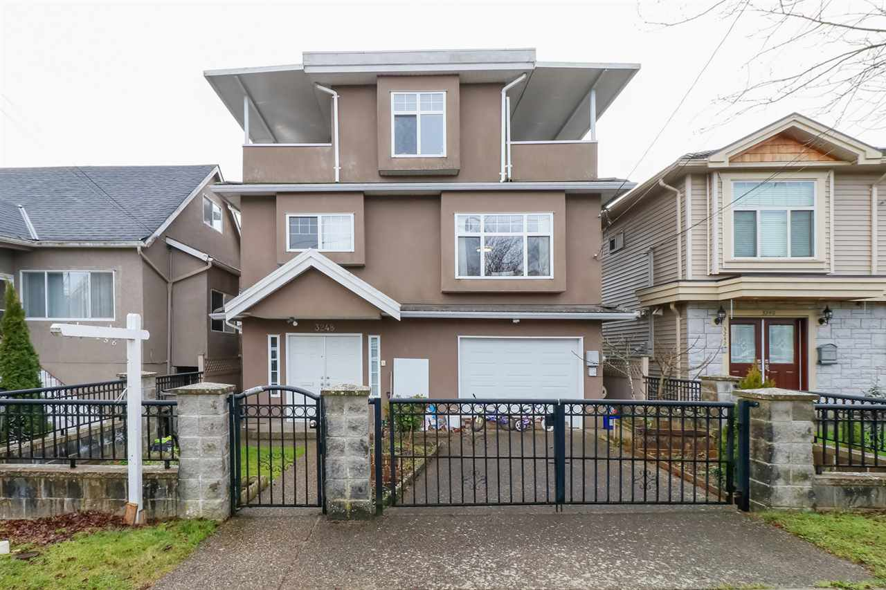 Main Photo: 3248 AUSTREY Avenue in Vancouver: Collingwood VE House for sale (Vancouver East)  : MLS®# R2293678
