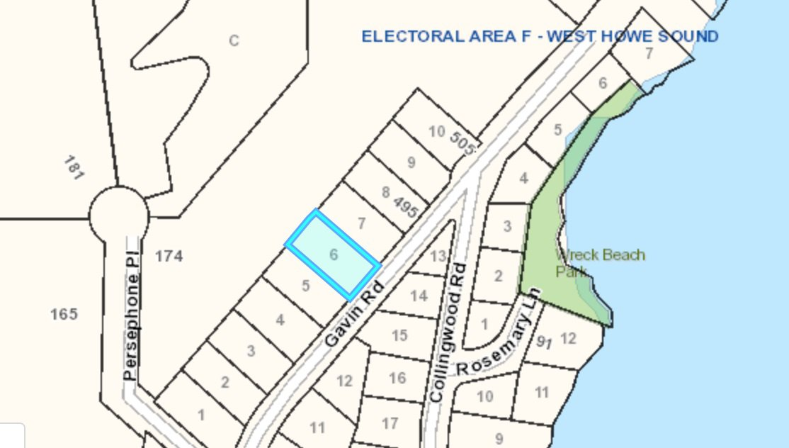 "Main Photo: Lot 6 GAVIN: Keats Island Land for sale in ""Eastbourne"" (Sunshine Coast)  : MLS®# R2348010"