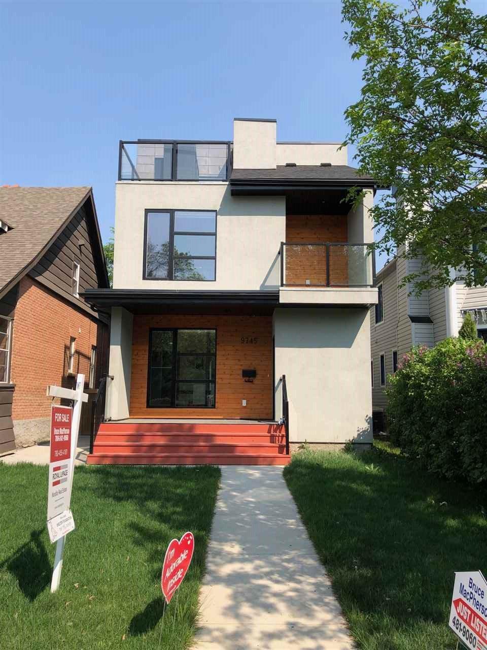 Main Photo: 9745 93 Street in Edmonton: Zone 18 House for sale : MLS®# E4159102