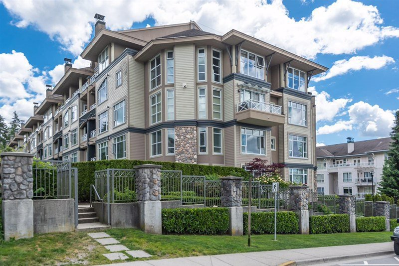 "Photo 1: Photos: 201 3600 WINDCREST Drive in North Vancouver: Roche Point Townhouse for sale in ""Windsong At Raven Woods"" : MLS®# R2377804"