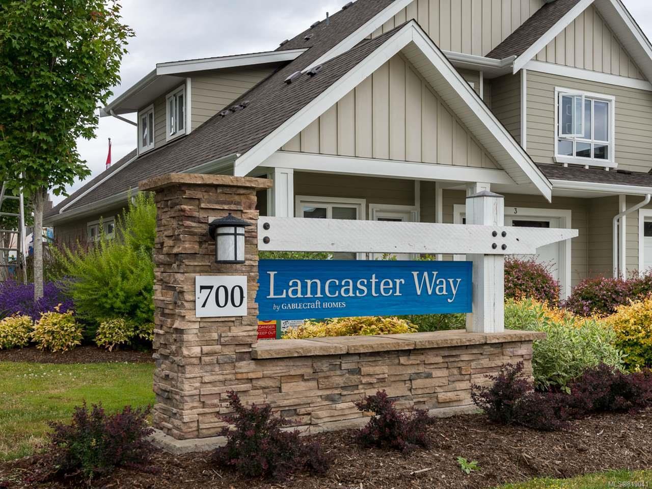 Main Photo: 38 700 LANCASTER Way in COMOX: CV Comox (Town of) Row/Townhouse for sale (Comox Valley)  : MLS®# 819041