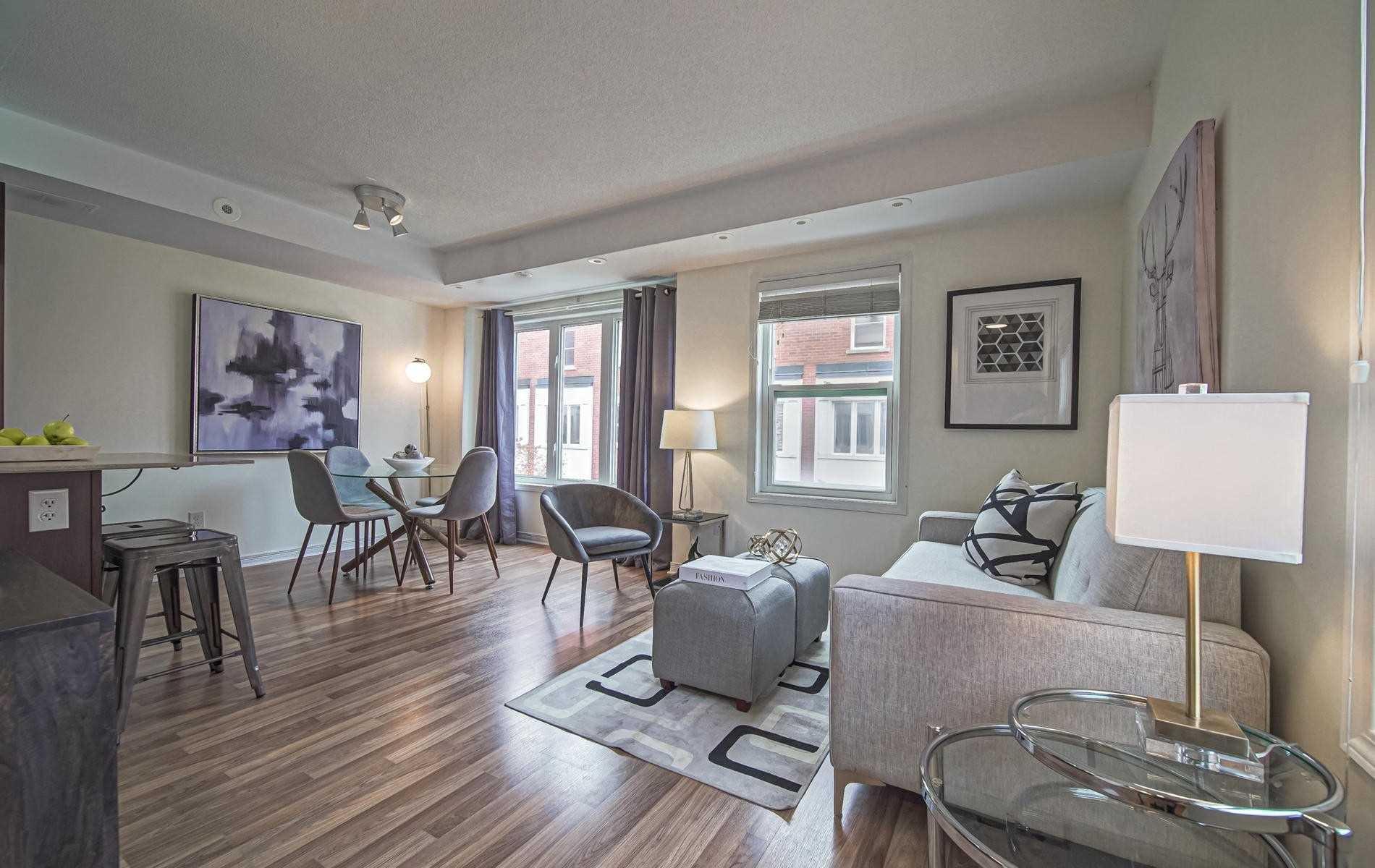 Photo 2: Photos: 3 78 Munro Street in Toronto: South Riverdale Condo for sale (Toronto E01)  : MLS®# E4615987