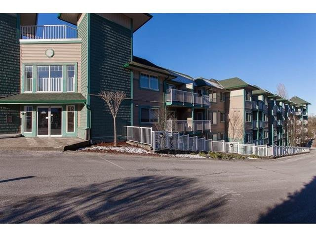 "Main Photo: 406 33960 OLD YALE Road in Abbotsford: Central Abbotsford Condo for sale in ""OLD YALE HEIGHTS"" : MLS®# R2438456"