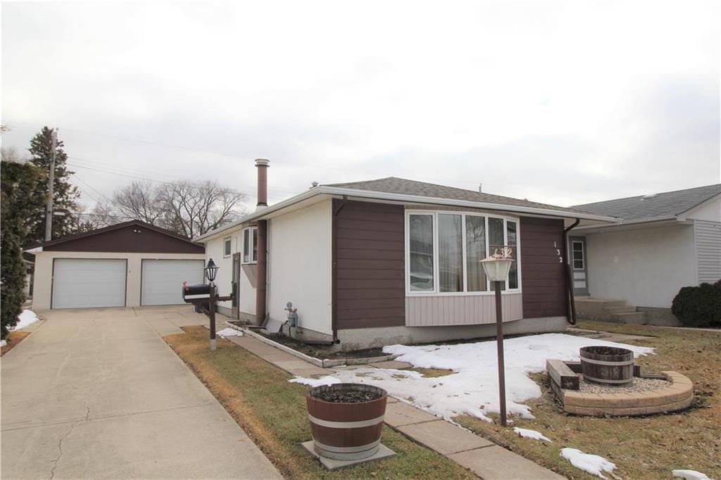 Main Photo: 132 Vryenhoek Crescent in Winnipeg: Residential for sale (3F)  : MLS®# 202005881