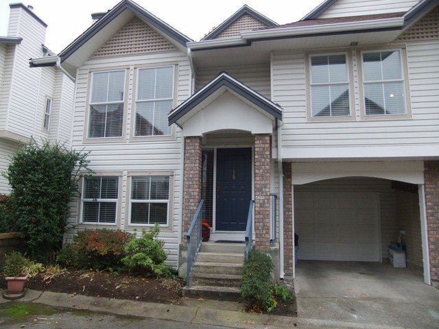 "Main Photo: 15 8716 WALNUT GROVE Drive in Langley: Walnut Grove Townhouse for sale in ""Willow Arbour"" : MLS®# F1324550"