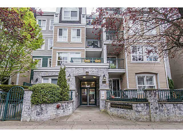 "Main Photo: 206 3278 HEATHER Street in Vancouver: Cambie Condo for sale in ""The Heatherstone"" (Vancouver West)  : MLS®# V1121190"