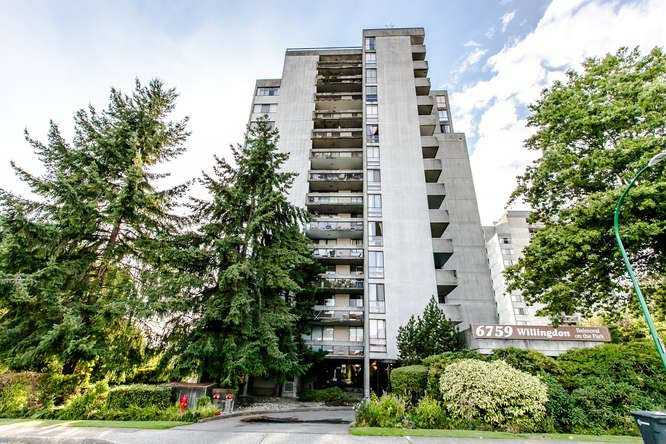 "Main Photo: 206 6759 WILLINGDON Avenue in Burnaby: Metrotown Condo for sale in ""BALMORAL ON THE PARK"" (Burnaby South)  : MLS®# R2209598"