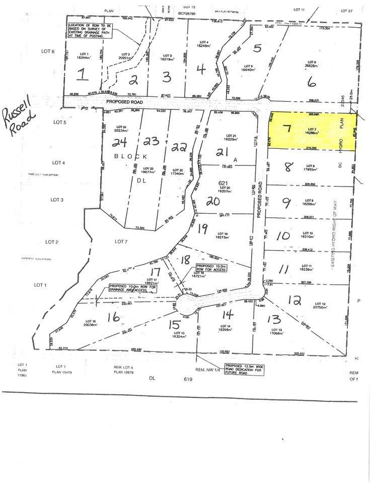 Main Photo: LT 7 11230 W BEAVERLEY Road in Prince George: Beaverley Land for sale (PG Rural West (Zone 77))  : MLS®# R2319010