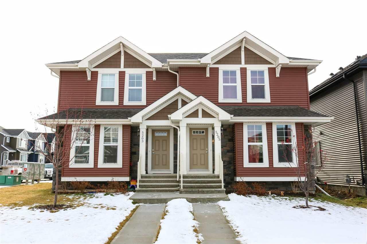 Photo 16: Photos: 5203 20 Ave in Edmonton: Zone 53 House Half Duplex for sale : MLS®# E4136572