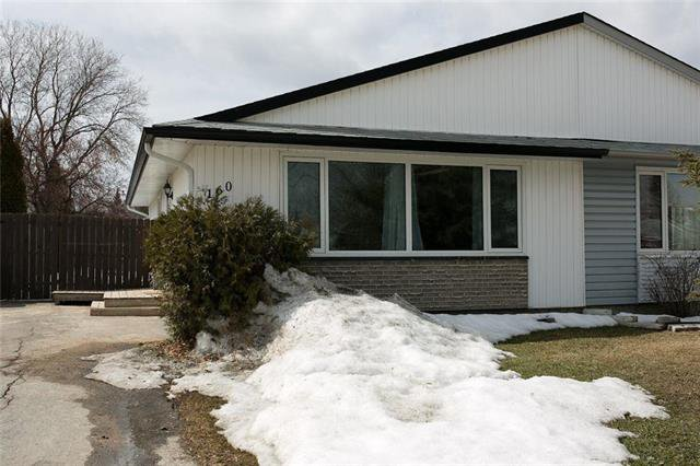 Main Photo: 160 Bluewater Crescent in Winnipeg: Southdale Residential for sale (2H)  : MLS®# 1907146