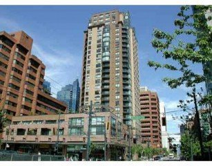 Main Photo: 609 1189 Howe Street in Vancouver: Downtown Home for sale ()  : MLS®# V539344