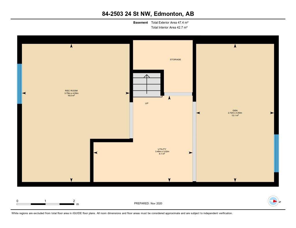 Photo 48: Photos: 84 2503 24 Street in Edmonton: Zone 30 House Half Duplex for sale : MLS®# E4220474