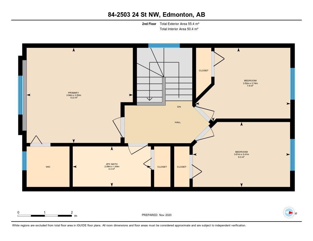 Photo 47: Photos: 84 2503 24 Street in Edmonton: Zone 30 House Half Duplex for sale : MLS®# E4220474