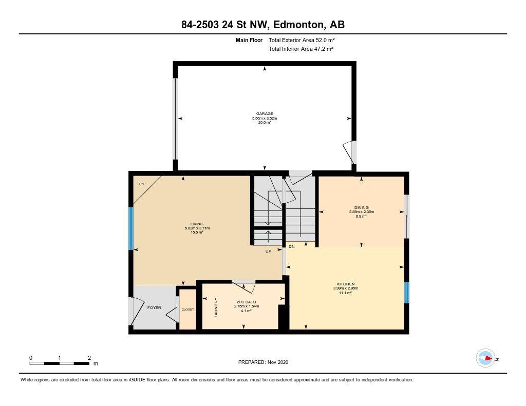 Photo 46: Photos: 84 2503 24 Street in Edmonton: Zone 30 House Half Duplex for sale : MLS®# E4220474