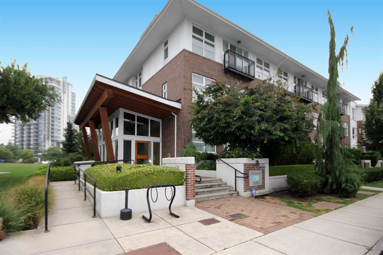 """Main Photo: 308 215 BROOKES Street in New Westminster: Queensborough Condo for sale in """"DUO"""" : MLS®# R2525288"""