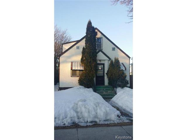 Main Photo: 597 Chalmers Avenue in WINNIPEG: East Kildonan Residential for sale (North East Winnipeg)  : MLS®# 1405933