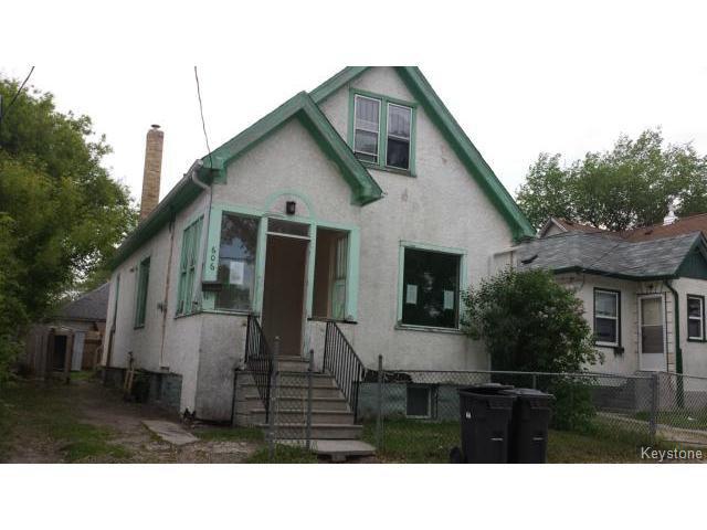 Main Photo: 606 Alexander Avenue in WINNIPEG: Brooklands / Weston Residential for sale (West Winnipeg)  : MLS®# 1514682
