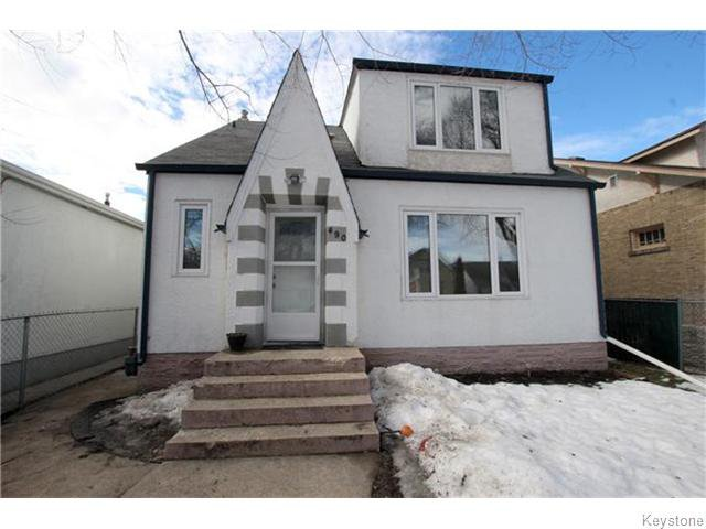 Main Photo: 490 Garlies Street in WINNIPEG: North End Residential for sale (North West Winnipeg)  : MLS®# 1605113