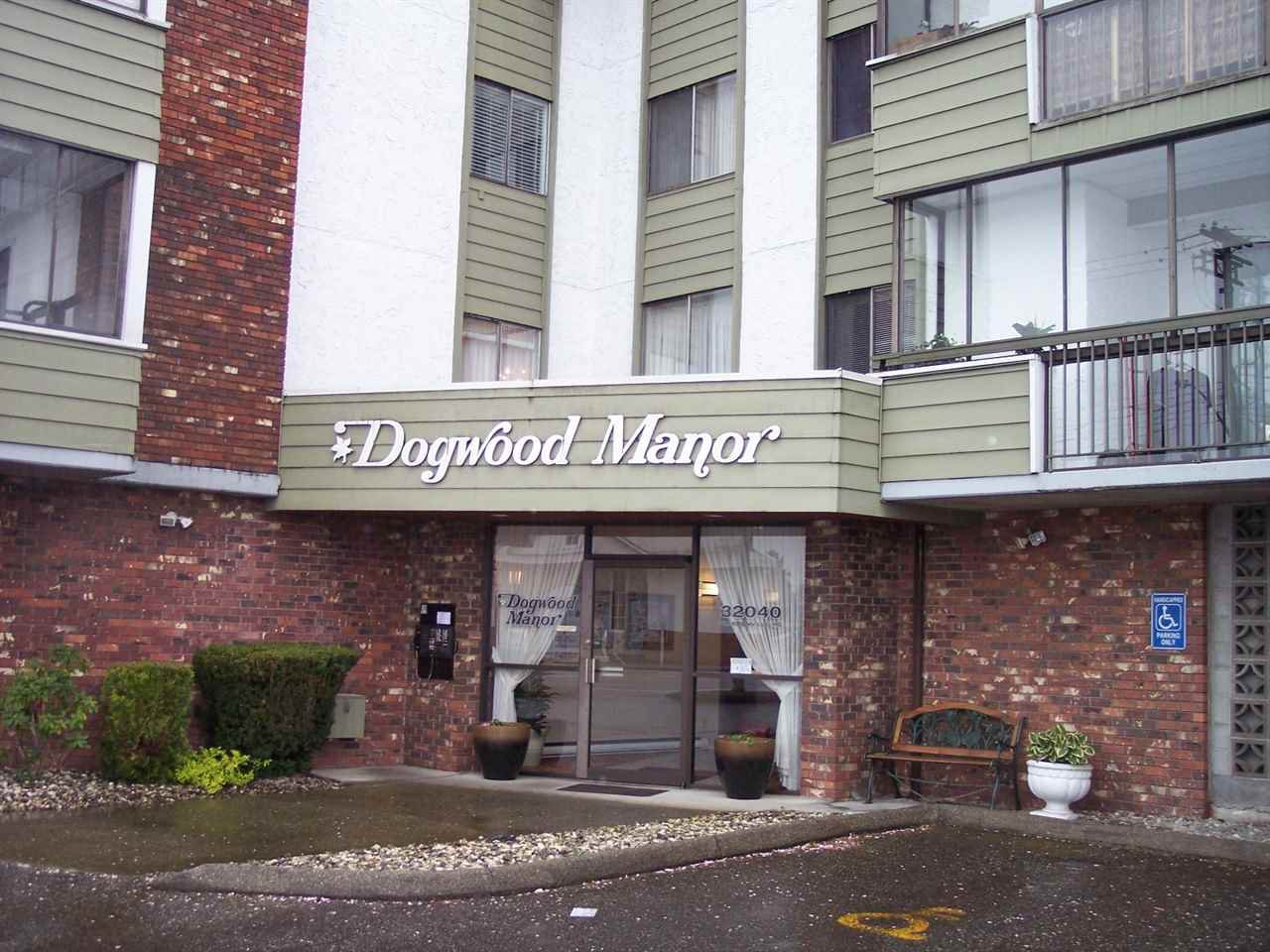 "Main Photo: 201 32040 PEARDONVILLE Road in Abbotsford: Abbotsford West Condo for sale in ""DOGWOOD MANOR"" : MLS®# R2056716"