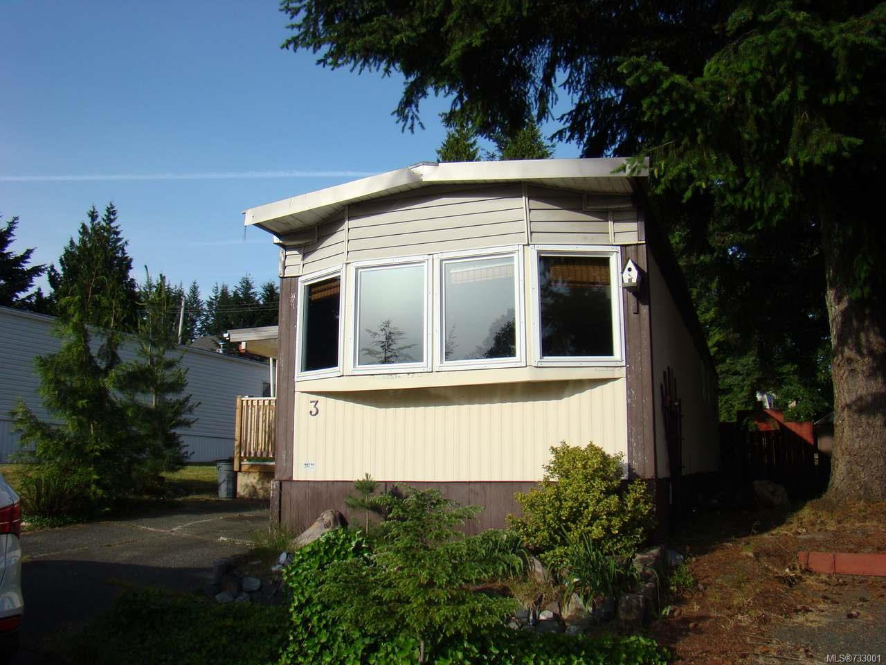 Main Photo: 3 1160 Shellbourne Blvd in CAMPBELL RIVER: CR Campbell River Central Manufactured Home for sale (Campbell River)  : MLS®# 733001