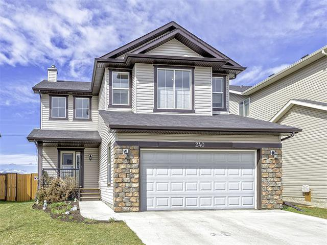 Exterior front - 240 Hawkmere Way - Chestermere. Alberta