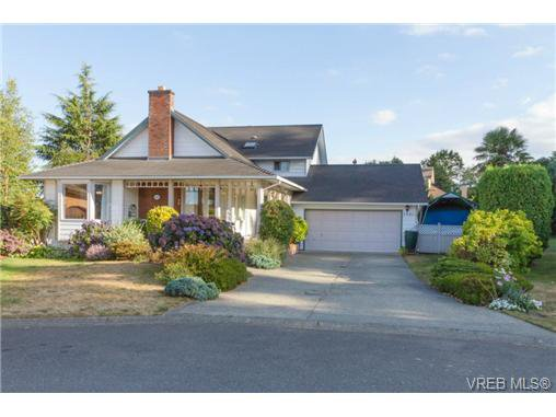 Main Photo: 2441 Costa Vista Pl in VICTORIA: CS Tanner Single Family Detached for sale (Central Saanich)  : MLS®# 739744