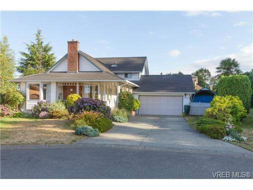 Main Photo: 2441 Costa Vista Pl in VICTORIA: CS Tanner House for sale (Central Saanich)  : MLS®# 739744