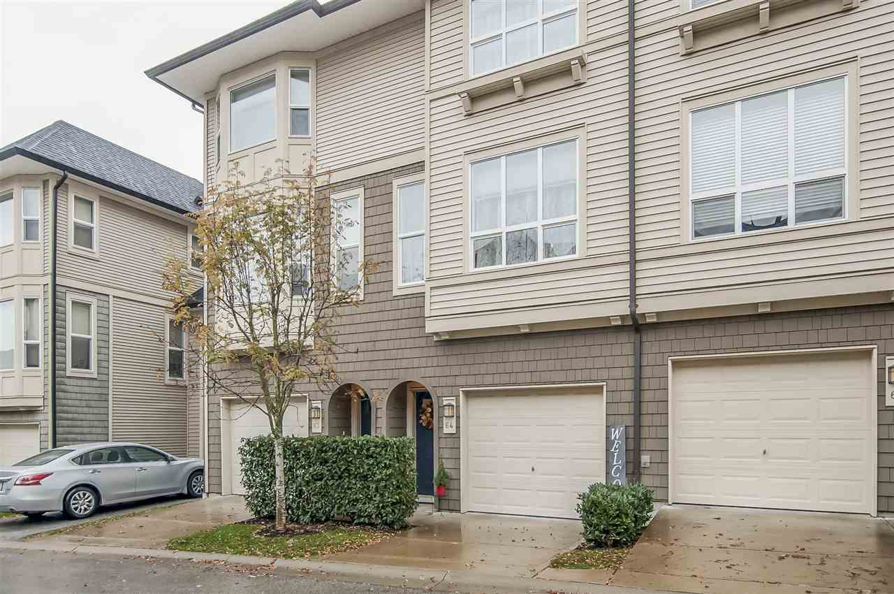 "Main Photo: 64 7938 209 Street in Langley: Willoughby Heights Townhouse for sale in ""Red Maples"" : MLS®# R2329389"